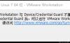 Windows 10系统下VMware Workstation与Device/Credential Guard不兼容